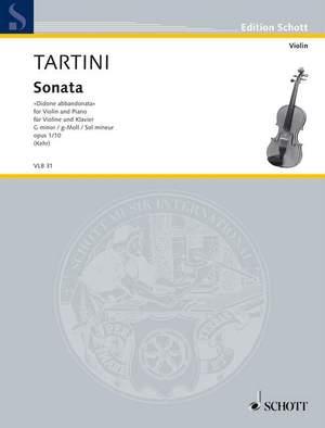 Tartini, G: Sonata G Minor op. 1/10 Product Image