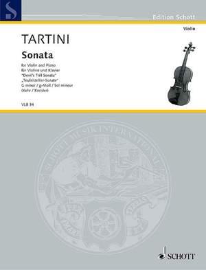 Tartini, G: Sonata G Minor Product Image