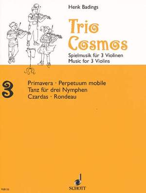 Badings, H: Trio-Cosmos Nr. 3