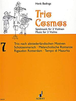 Badings, H: Trio-Cosmos Nr. 7