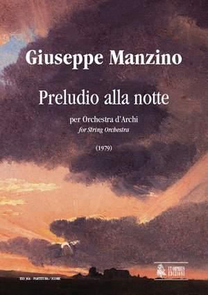 Manzino, G: Preludio alla notte (1979)
