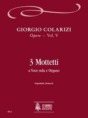 Colarizi, G: Selected Works   Vol. 5