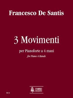 De Santis, F: 3 Movimenti