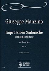 Manzino, G: Impressioni Sinfoniche. Trittico Savonese