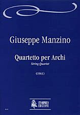 Manzino, G: String Quartet (1961)