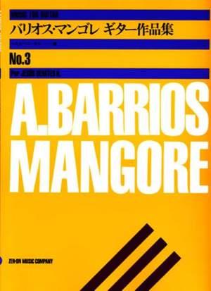 Barrios Mangore, A: Music album for Guitar Vol.3 Vol. 3 Product Image
