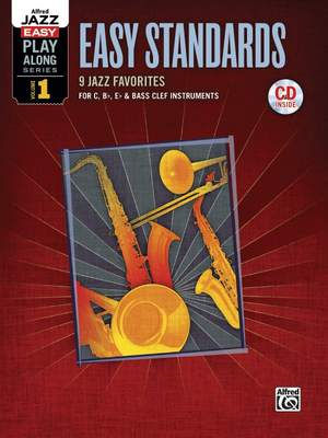 Alfred Jazz Easy Play-Along Series, Vol. 1: Easy Standards Product Image