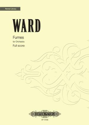 Ward, D: Fumes for orchestra