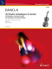 Dancla, C: 36 Melodious and Easy Studies op. 84