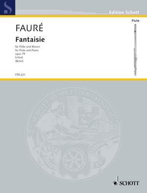 Fauré, G: Fantasy op. 79