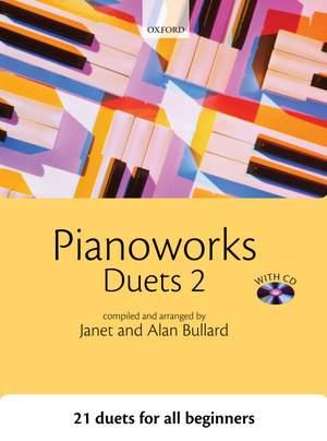 Bullard, Janet: Pianoworks Duets 2 + CD