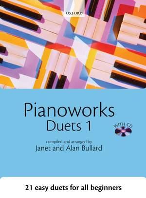 Bullard, Janet: Pianoworks Duets 1 + CD