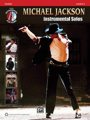 Michael Jackson Instrumental Solos Clarinet
