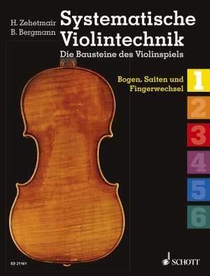 Systematische Violintechnik Band 1