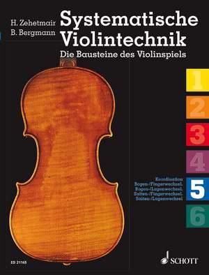 Systematische Violintechnik Band 5