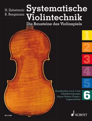 Systematische Violintechnik Band 6