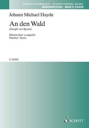Haydn, J M: An den Wald