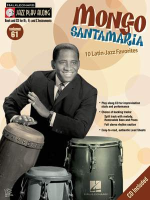 Mongo Santamaria Jazz Play-Along Volume 61