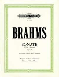 Brahms: Violin Sonata in G, Op.78 (Version for Viola)