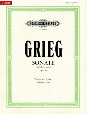 Grieg, E: Sonate Nr. 3 c-Moll op. 45