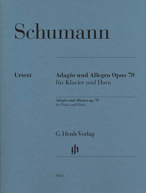 Schumann, R: Adagio and Allegro op. 70