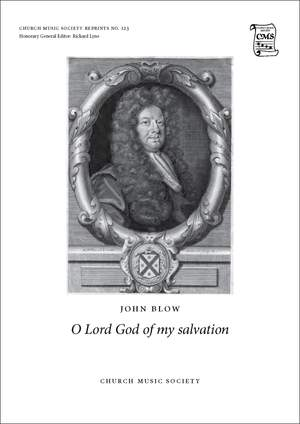 Blow, John: O Lord God of my salvation