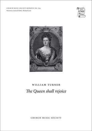 Turner, William: The Queen shall rejoice