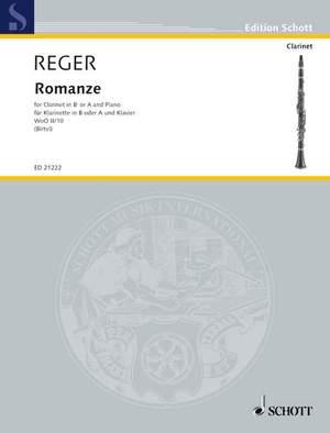 Reger, M: Romance G major WoO II/10