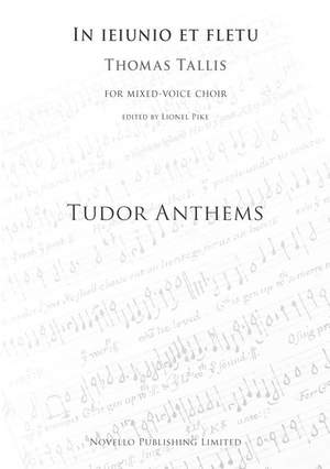 Thomas Tallis: In Jejunio Et Fletu (Tudor Anthems)