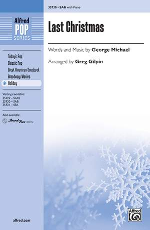 George Michael: Last Christmas SAB