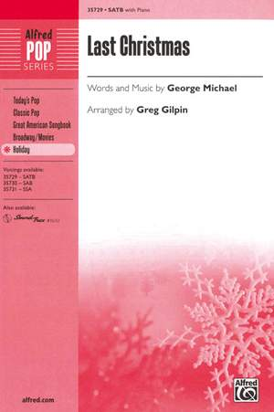 George Michael: Last Christmas SATB
