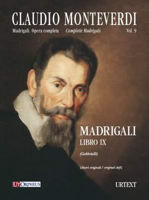 Monteverdi, C: Madrigali Libro IX (Venezia 1651)