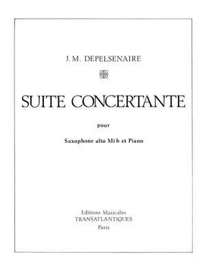 Jean-Marie Depelsenaire: Suite Concertante