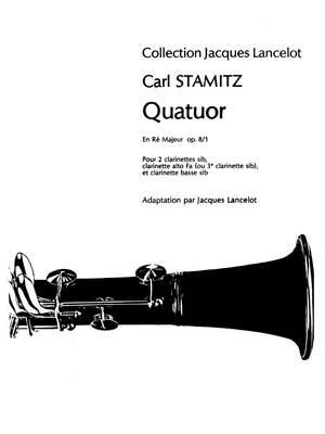 Carl Stamitz: Quatuor En Ré Majeur Op.8