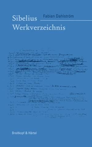 Dahlström: Jean Sibelius Werkverzeichnis