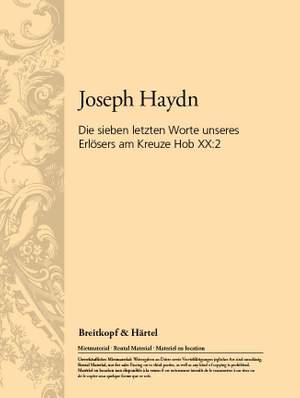 Haydn: 7 Worte des Erlösers Hob XX: 2