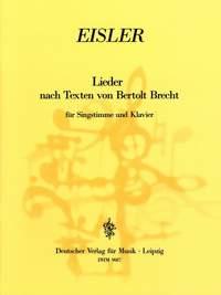 Eisler: Lieder nach Texten von Brecht