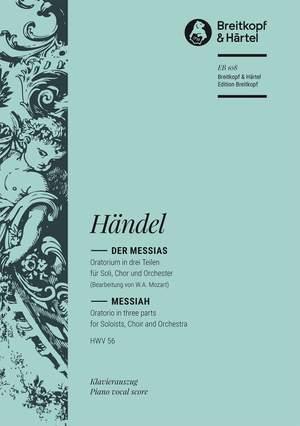 Händel: Der Messias HWV 56 Product Image