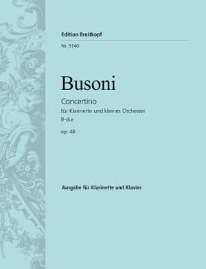 Busoni: Concertino op. 48