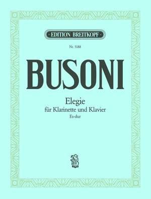 Busoni: Elegie Es-dur