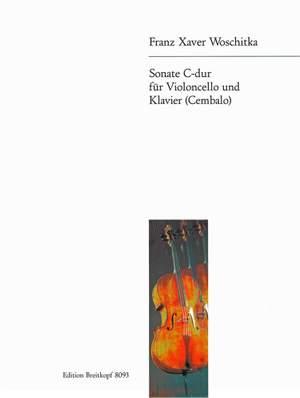 Woschitka: Sonate C-dur