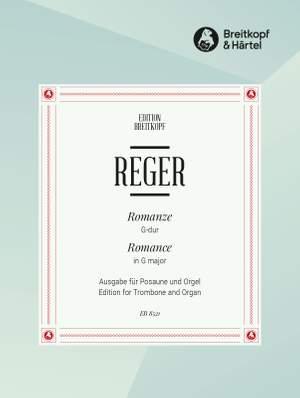 Reger: Romanze G-dur Product Image