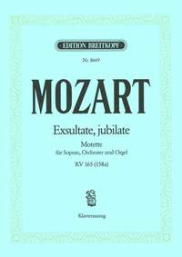 Mozart: Exsultate, jubilate KV 165