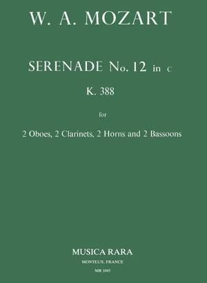 Mozart: Serenade in c Nr. 12 KV 388