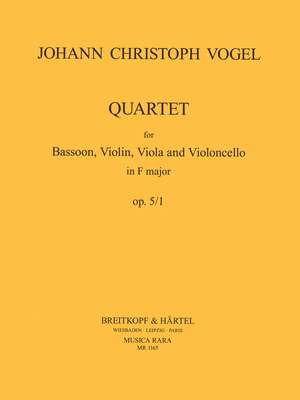 Vogel: Quartett in d op. 5 Nr. 1
