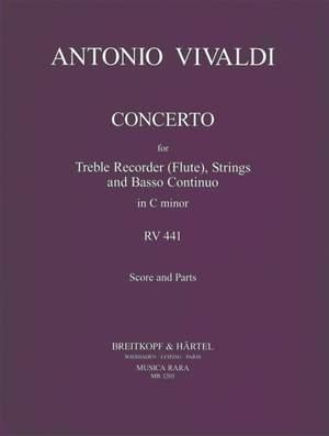 Vivaldi: Flötenkonzert in c RV 441