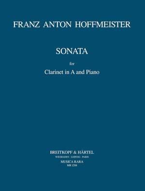 Hoffmeister: Sonate in A