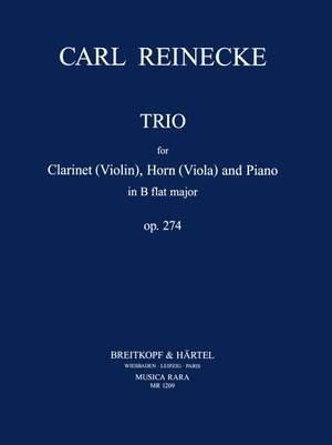 Reinecke: Trio in B-dur op. 274
