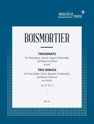 Boismortier: Triosonate in a op. 37/5