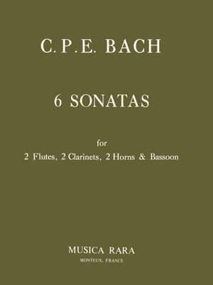 Bach, CPE: Sechs Sonaten